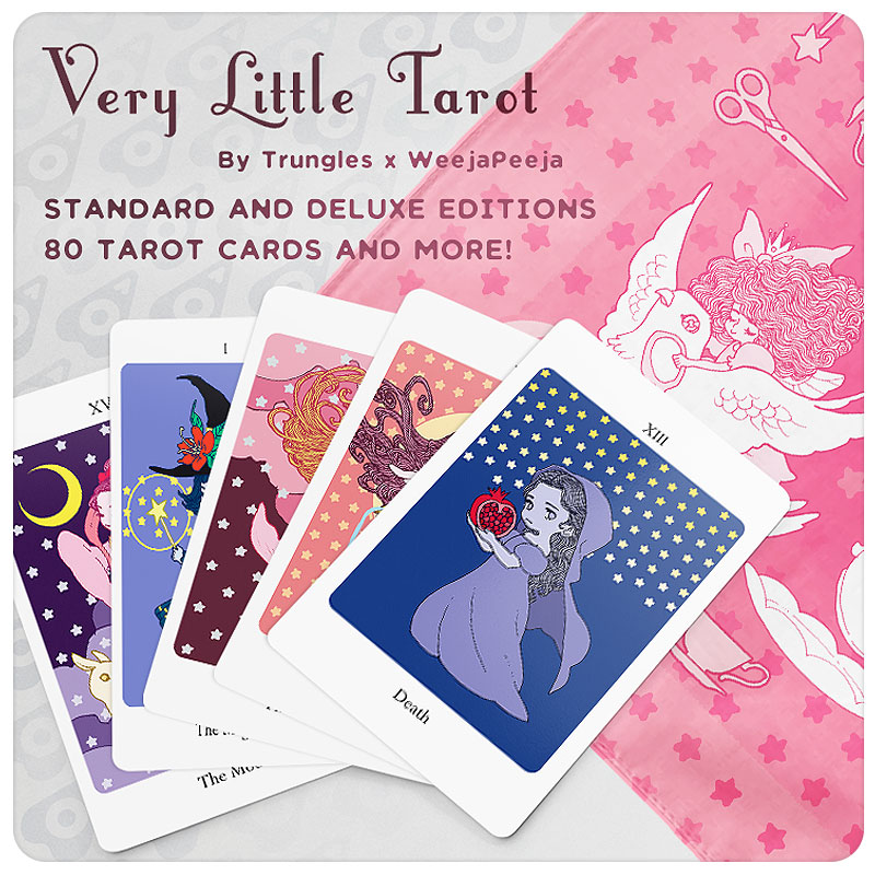 Very Little Tarot Deck, by Trungles | Weejapeeja